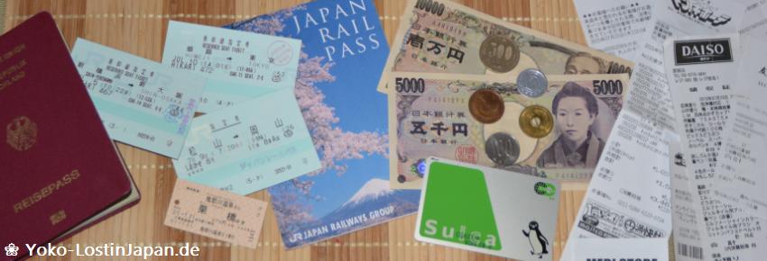 Reisekosten Japan
