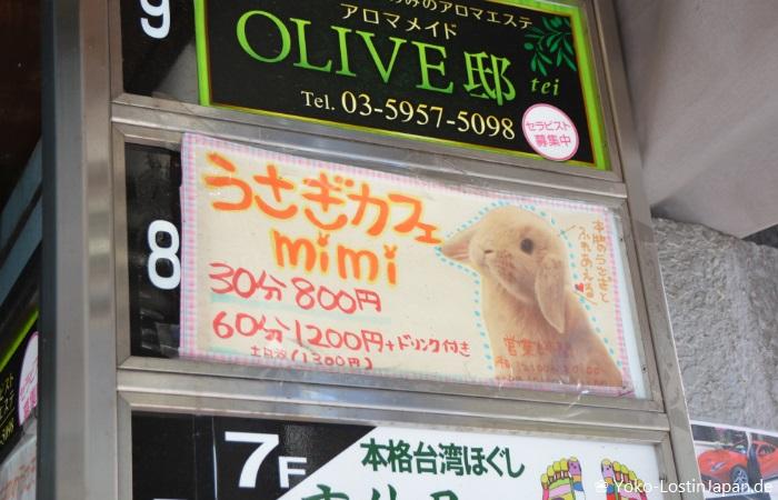 Usagi Cafe Mimi Ikebukuro