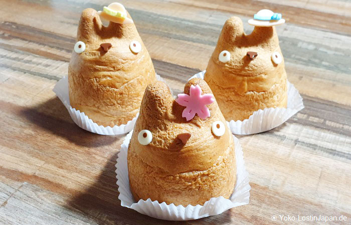 Shirohige's Cream Puff Factory - Totoro Windbeutel